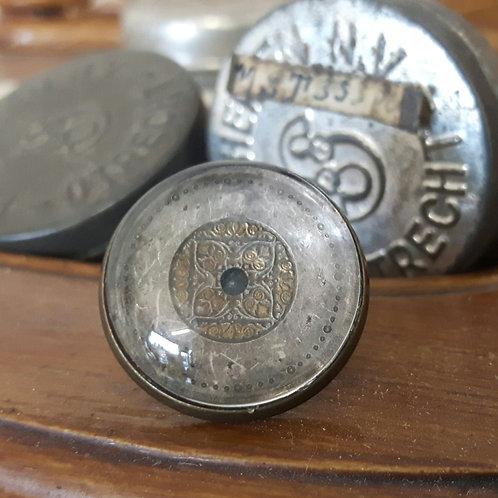 Vintage Watch Face Lapel Pin