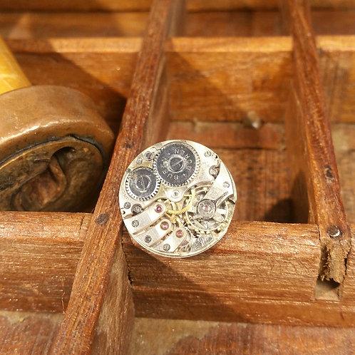 BUREN WW2 vintage watch movement cufflinks