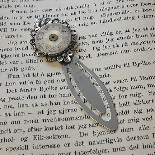 Vintage Watch Face Bookmark