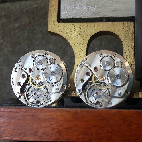 Vintage Cyma Watch Cufflinks
