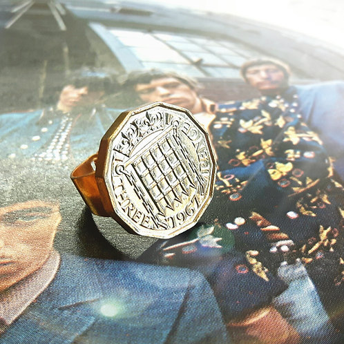 1967 Three Pence Ring