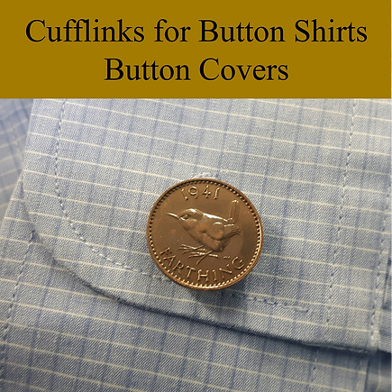 Cufflinks for button shirts button cover.png