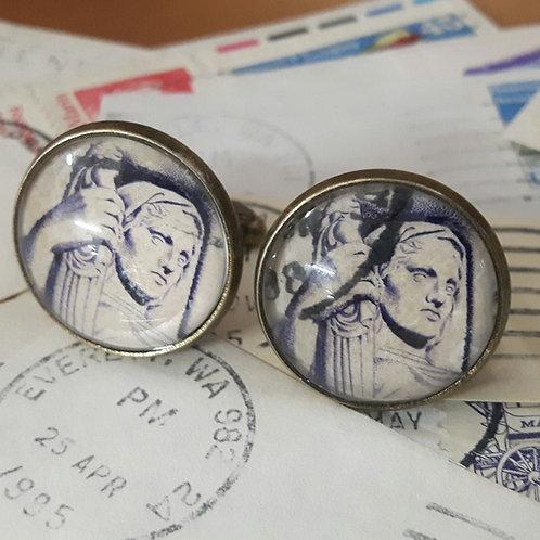 Vintage American Stamp Cufflinks