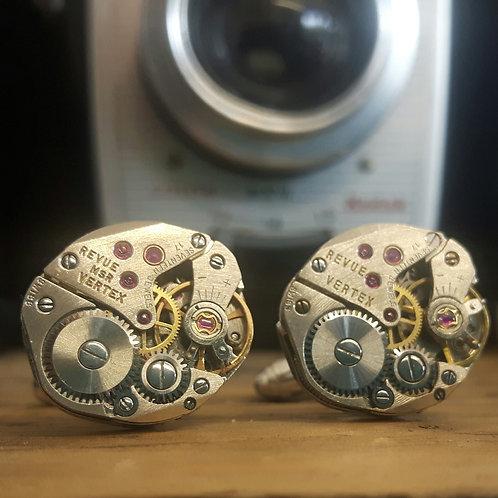 Vintage Vertex Watch Cufflinks