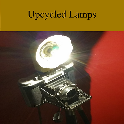 Upcycled Vintage Lamps