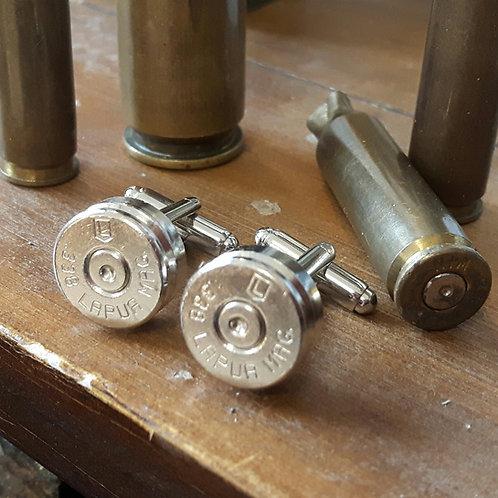 .338 Sniper Bullet Cufflinks