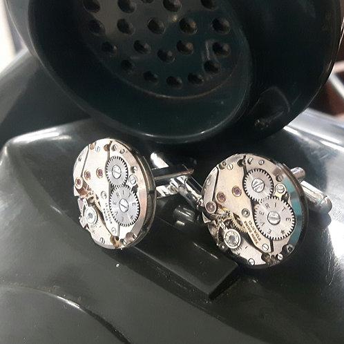 Vintage Everite Watch Movement Cufflinks
