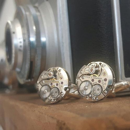 Vintage Tissot Watch Cufflinks