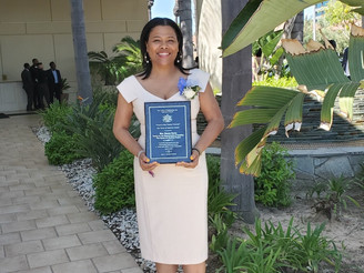 Top Ladies of Distinction award presented to Executive Director, Renee Curry