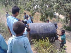 Installation de l'eau potable
