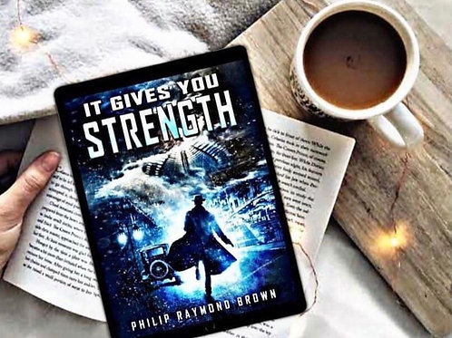 Ebook IT GIVES YOU STRENGTH  (epub edition for Apple Books & Google Books)