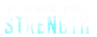 IT GIVES YOU STRENGTH LOGO
