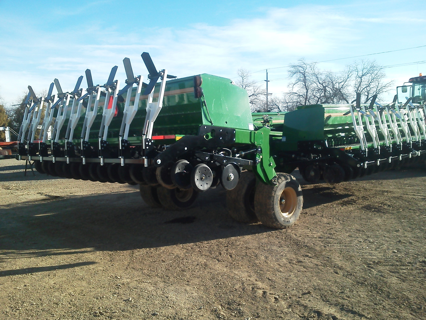 Culti-Dikers on Grain Drill