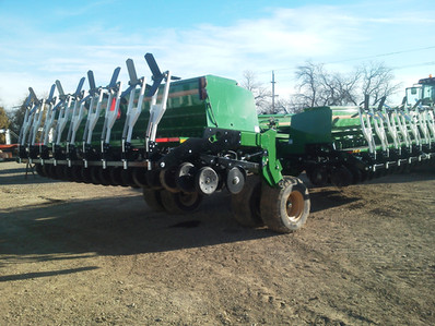 Culti-Dikers on Grain Drill