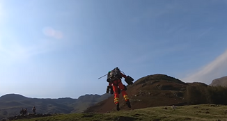 Paramedic in Jet Pack