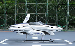 Flying Car Takes To The Sky - WITH PILOT