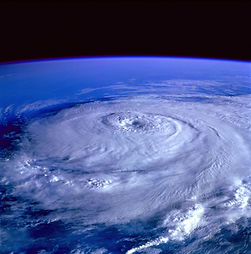 The Eye of a hurricane