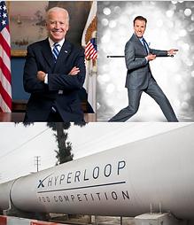 Joe Biden, Anton, Virgin Hyperloop