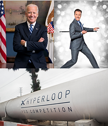 Joe Biden, Anton, Virgin Hyperloop