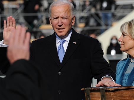 Joe Biden becomes US president!