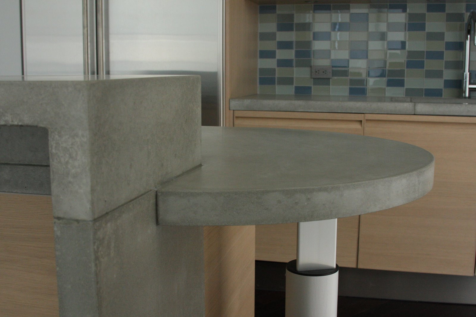 Polsihed concrete countertops