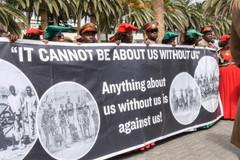 Namibia Protest