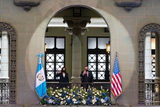 VP Harris visits Guatemala