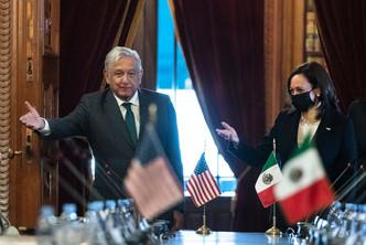 VP Harris visits Mexico