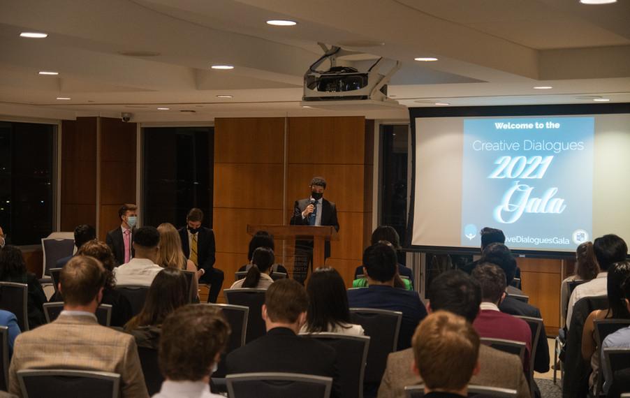 Onero Institute Executive Director, Elad Raymond, Addresses 2021 Creative Dialogues Gala
