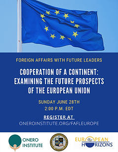 Cooperation of a Continent w EU Horizons