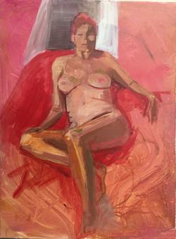 figure painting acrylic