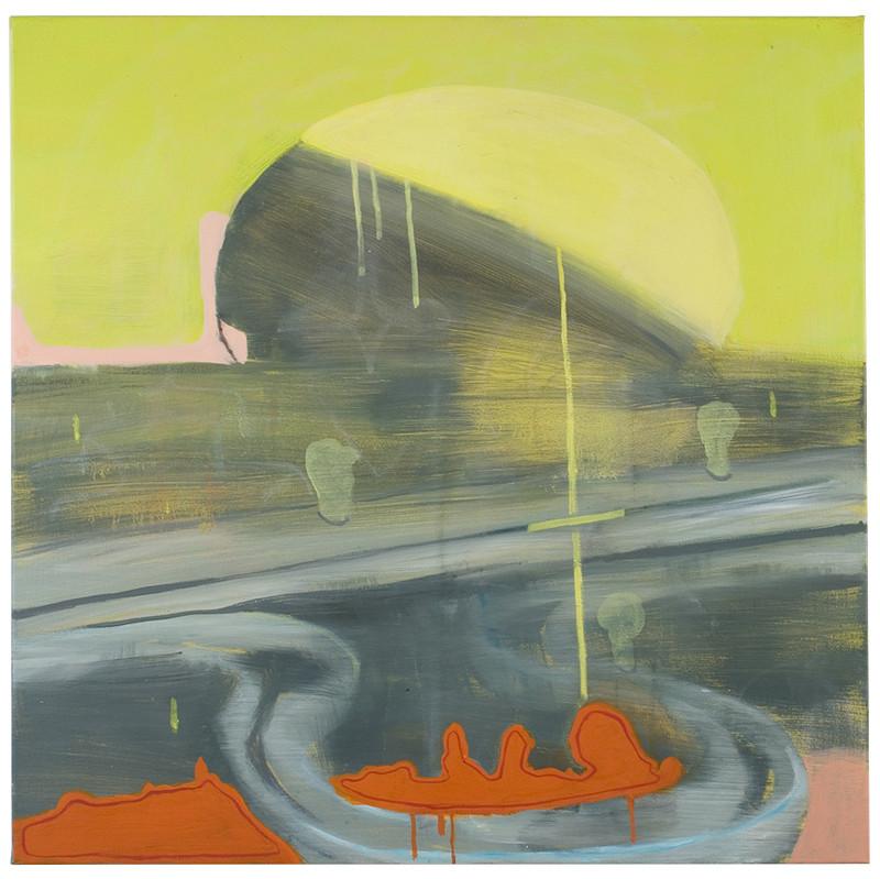 BIGHT PUMP oil on canvas 30 x 30_