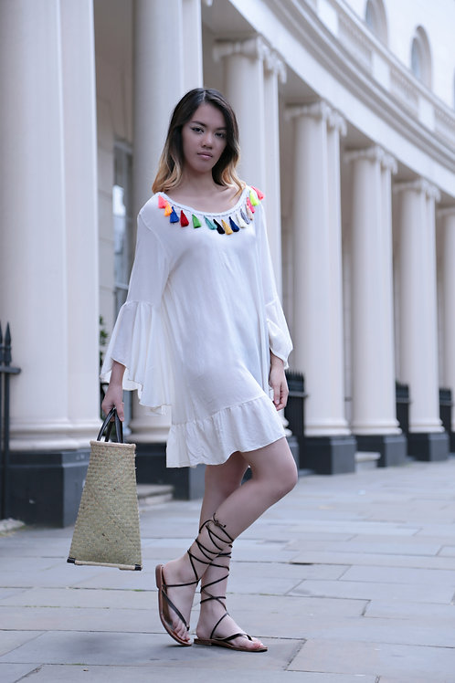 Asun Tassel Dress