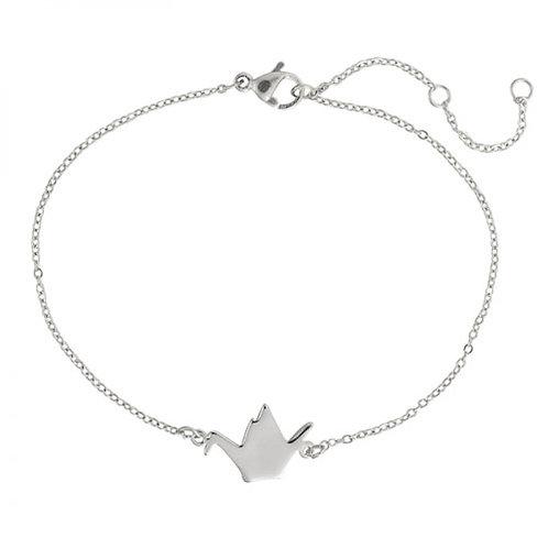 Silver Bird Bracelet