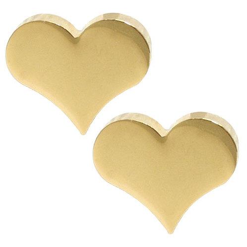 Heart Shaped Stud Earring