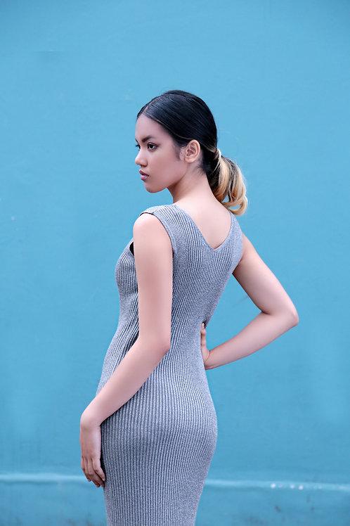 Angelika Rib Knit Dress