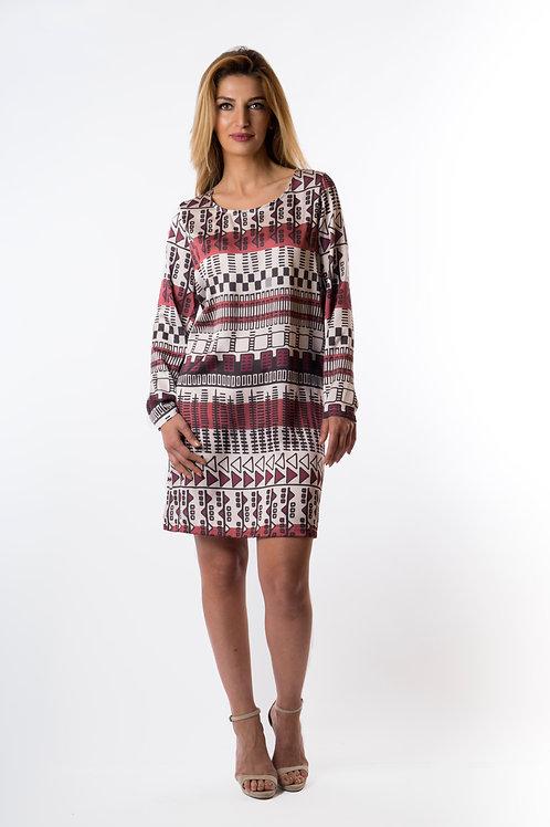 Alexis long sleeve tunic dress
