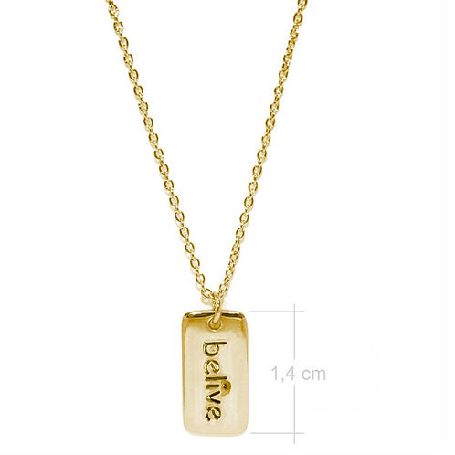 Belive Necklace