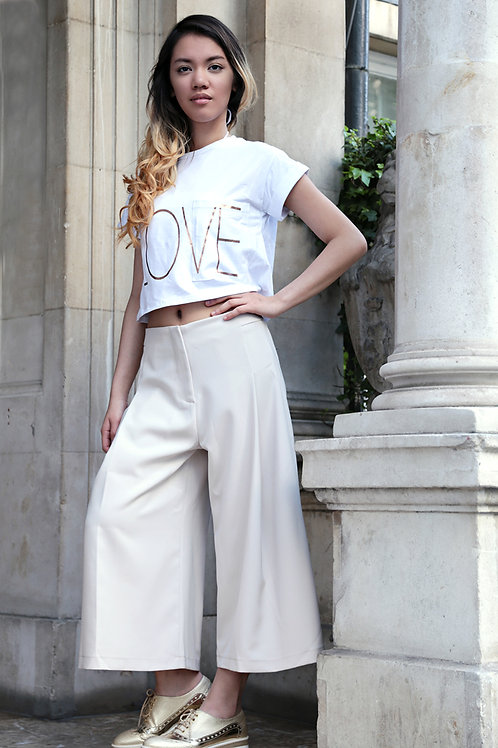 Bonita LOVE crop T-shirt