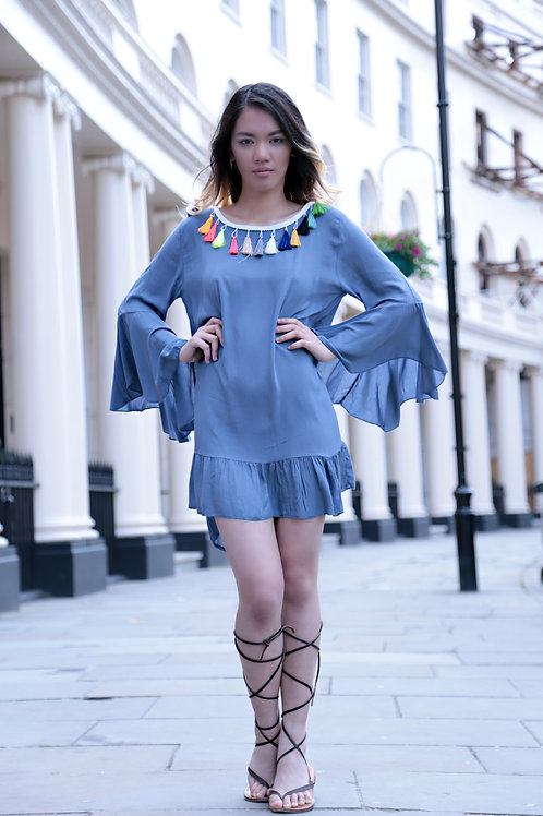 Asun Tassel Dress