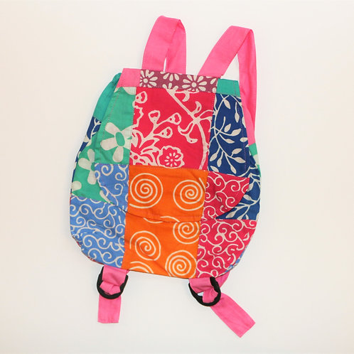Girls Patch Backpack