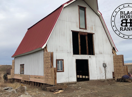 Historic Guest Barn Renovation - Episode 3  Attempting the Barn Lift