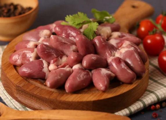 Pastured Chicken Hearts