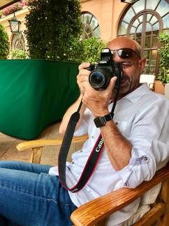 Randy Oakley in Portofino, Itay