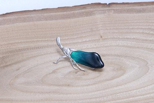 Lantern bug Brooch