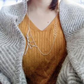 ナナフシモドキのネックレス