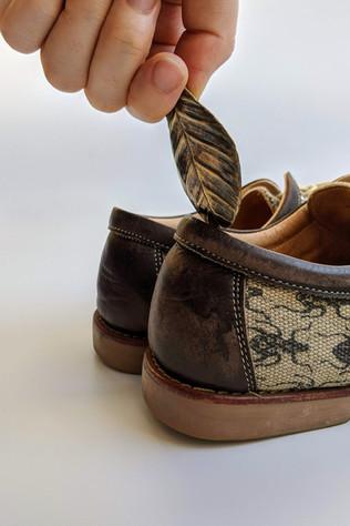 オオコノハムシの靴べら
