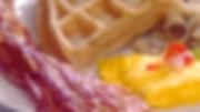 breakfast plate at Capt Jacks Family Buffet