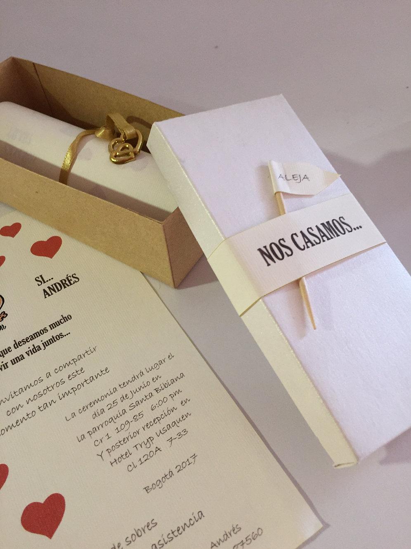 Tarjeta De Invitación Matrimonio Creart