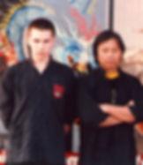 Grandmaster Kam Yuen and Michael Dawson